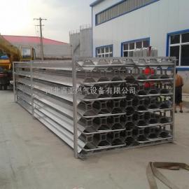 天然气汽化器500立方空温式气化器 LNG气化器 空温气化器