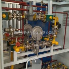 1000立方CNG双路减压计量撬设备 压缩天然气调压箱