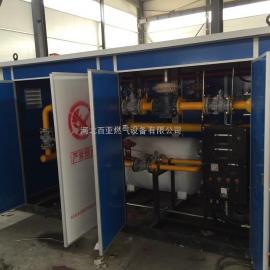 河北百亚CNG减压撬 压缩天然气调压供气设备 22兆帕燃气调压柜