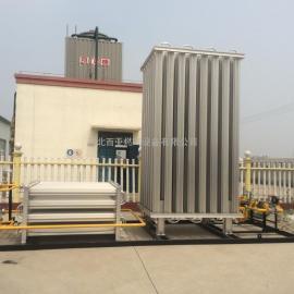 LNG气化设备 天然气点供设备 空温式气化器