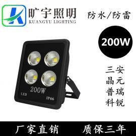 LED聚光灯方形200W质保三年