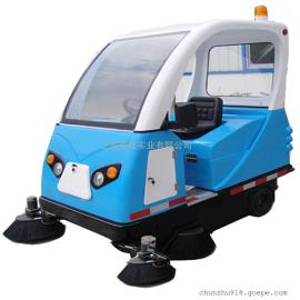 小区物业道路保洁用驾驶式清扫车工地大型仓库工厂车间用扫地车