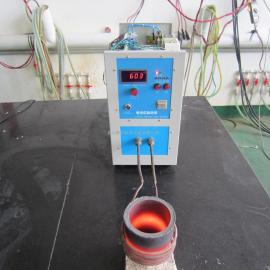 供应青州高频熔金炉 炼金炉 贵重金属熔化炉