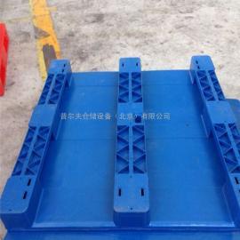 供应平板川字塑料托盘 动载1.5吨 100%全新料食品专用