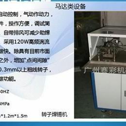 非标转子焊锡机_中山转子焊锡机_广州赛彩(图)