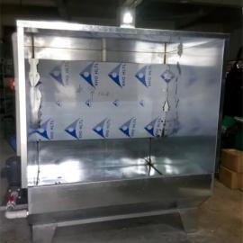 东莞常平直销不锈钢水濂柜喷油拉喷漆台环保水濂柜隧道炉烤箱