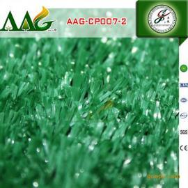 绿色草 国产丙纶草丝 花园绿化装饰草