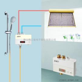 热水器智能恒温阀通用型太阳能空气能中央热水器混水阀恒温宝
