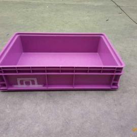 定制紫色塑料箱H 上海塑料周转箱