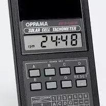 日本追浜OPPAMA汽油发动机转速表 汽车测速表 转速仪