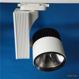舞台LED轨道射灯聚光超高亮度30w40w大功率导轨灯