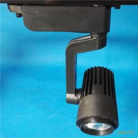 张家口LED超市导轨射灯厂家批发低价cob展会轨道灯40w