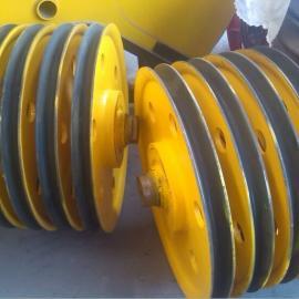 亚重20T滑轮组 铸钢材质 起重机滑轮组 吊钩滑轮组