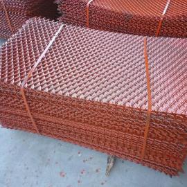 亚奇专业生产钢笆片 脚手架钢笆片 喷漆钢筋钢笆网片承重力强