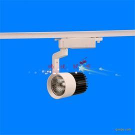 衡水低价LED导轨灯防潮耐高温cob珠宝店轨道射灯高亮度