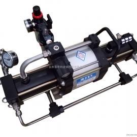 供应台州菲恩特ZTT系列二级气动气体增压泵生产厂家