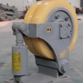 滚轮挂耳煤矿井下罐笼提升必备安全设备
