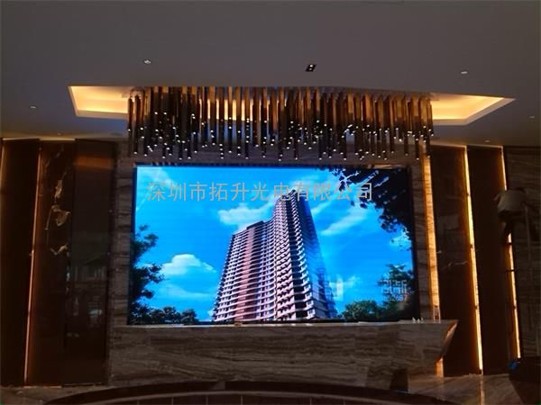 三明房地产多媒体电子大屏幕led室内墙大屏幕