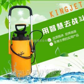 拉车式气压消毒喷雾器、打药机 进口KINGGET喷雾壶