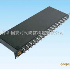 GA-BNC/16国安视频信号防雷器(机架式)