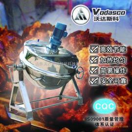 卤肉煮锅,导热油夹层锅,导热油蒸煮锅