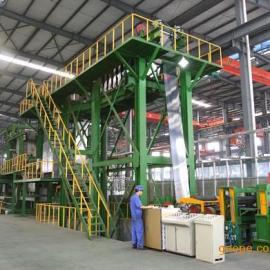 热镀锌带钢生产线一次性投入成本的控制