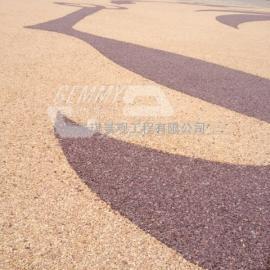 辽宁海绵城市透水地坪 沈阳防滑彩色路面 鞍山不褪色混凝土地坪