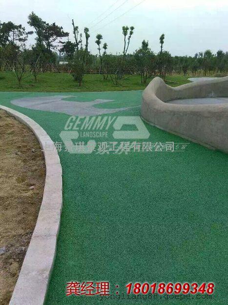 江苏海绵城市透水地坪|南京无砂混凝土防滑路面|常州渗水地坪