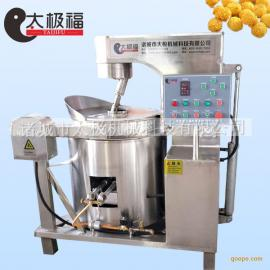 山东太极机械专业生产销售食品级优质不锈钢制造燃气爆米花机