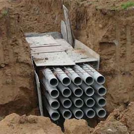 内抛光内喷涂维纶水泥电缆保护管