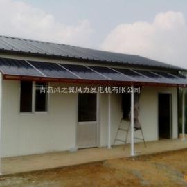 太阳能光伏发电站,屋顶平地家用小型太阳能发电系统2KW