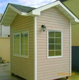 PVC挂板岗亭外形美观大气!