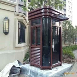 钢结构岗亭、美观耐用!
