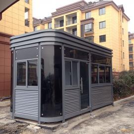 钢结构岗亭、外形美观耐用,规格可根据客户要求定制!