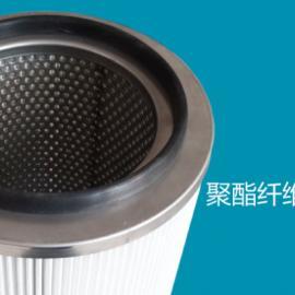 320*750工业粉尘滤芯 搅拌站除尘滤芯 烟气空气滤芯