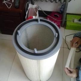 昆明市工业 除尘器滤芯.粉末回收滤筒.空气净化除尘滤芯