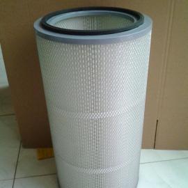 335*660工业粉尘滤芯 搅拌站除尘滤芯 烟气空气滤芯