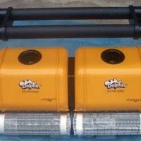 海豚泳池吸污机一级供应商,2*2超强海豚清污机