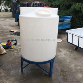 永城1T塑料计量箱1000L带液位计防腐计量罐生产厂家