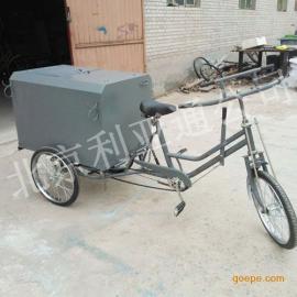 厂家供应0.3立方铁板三轮垃圾清运车、环卫三轮保洁车北京