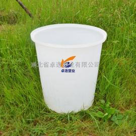 200升敞口化工圆桶 耐酸碱水桶 泡菜皮蛋腌制圆桶