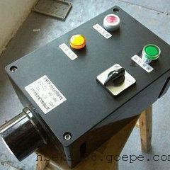 FCZ-S-B2A1D2L黑色工程塑料材质、防水防尘防腐操作柱