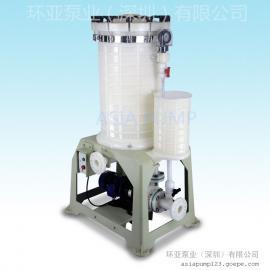 AX-318 环亚化学药液过滤机 深圳过滤机厂家
