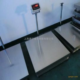 304不锈钢易清洗型台秤 200公斤全不锈钢防水电子台秤