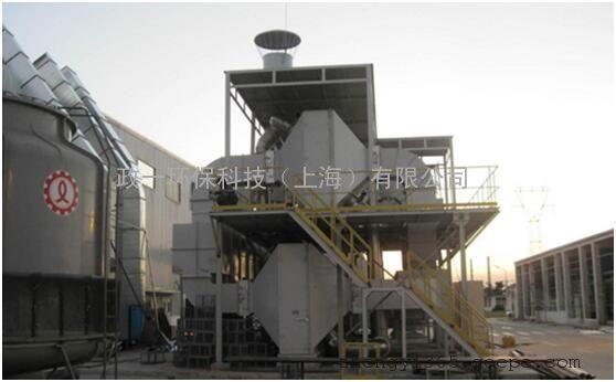 工业废气沸石转轮吸附浓缩+RTO装置