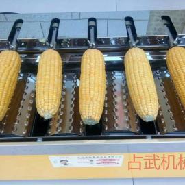 占武机械全自动旋转烤玉米机 烤苞米机 厂家直销