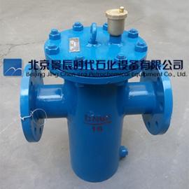 铸钢不锈钢消气过滤器DN100 PN16精度10-300目