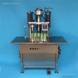 汽车化油器清洗剂灌装机 表板蜡灌装设备 气雾剂灌装生产线