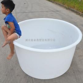 800升敞口化工圆桶 耐酸碱水桶 泡菜桶皮蛋桶腌制桶