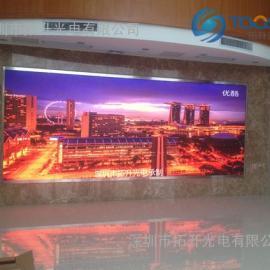 展销会p3室内广告播放LED显示屏安装方案